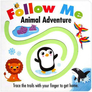 Follow Me: Animal Adventure Books