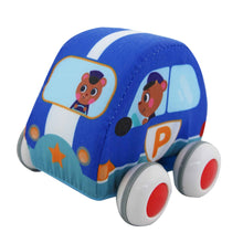 Load image into Gallery viewer, Fabric Pull-Back Cars - Penguin & Bear