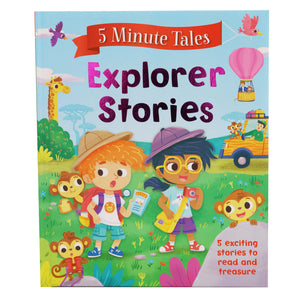 5 Minute Tales: Explorer Stories