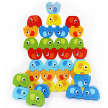 Load image into Gallery viewer, Elephant Stacking - 46 pc - Tooky Toy