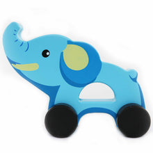 Load image into Gallery viewer, Elephant Push Toy