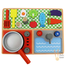 Load image into Gallery viewer, Wooden Cooking Set