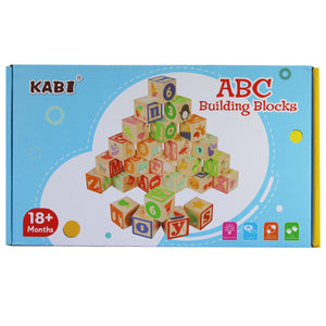 Number, Letter & Picture Blocks