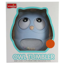 Load image into Gallery viewer, Owl Tumbler (Blue)