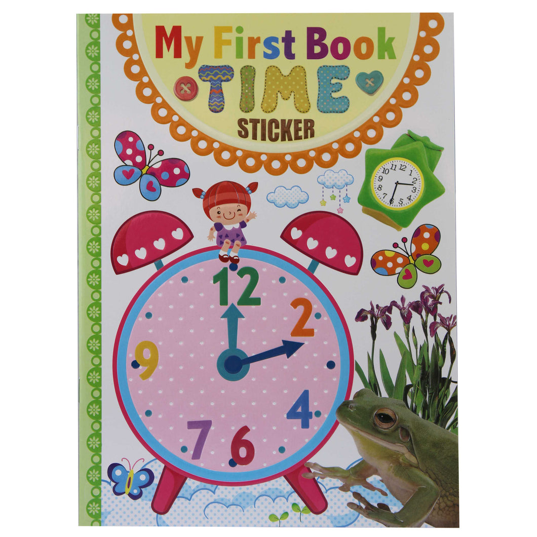 My First Book of Time - Activity Book