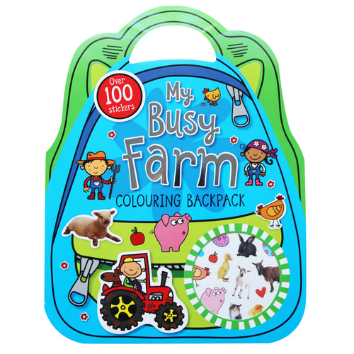My Farm Colouring Backpack