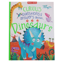 Load image into Gallery viewer, Curious Questions & Answers about Dinosaurs - Hard Cover