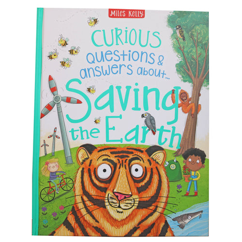 Curious Questions & Answers about Saving the Earth - Hard Cover
