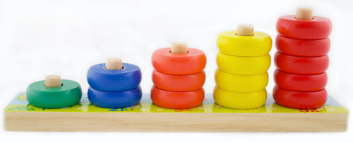 Wooden Counting Set (1 - 5)