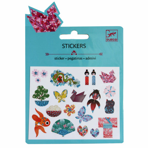 Japanese Mini Stickers (glitter) - Djeco