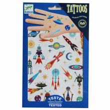 Load image into Gallery viewer, Space Oddity (glow in the dark) Tattoos - Djeco