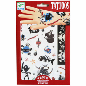 Pirate Tattoos - Djeco