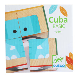 Wooden CubaBasic - Djeco