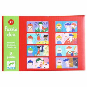 Emotions Duo Puzzle - Djeco