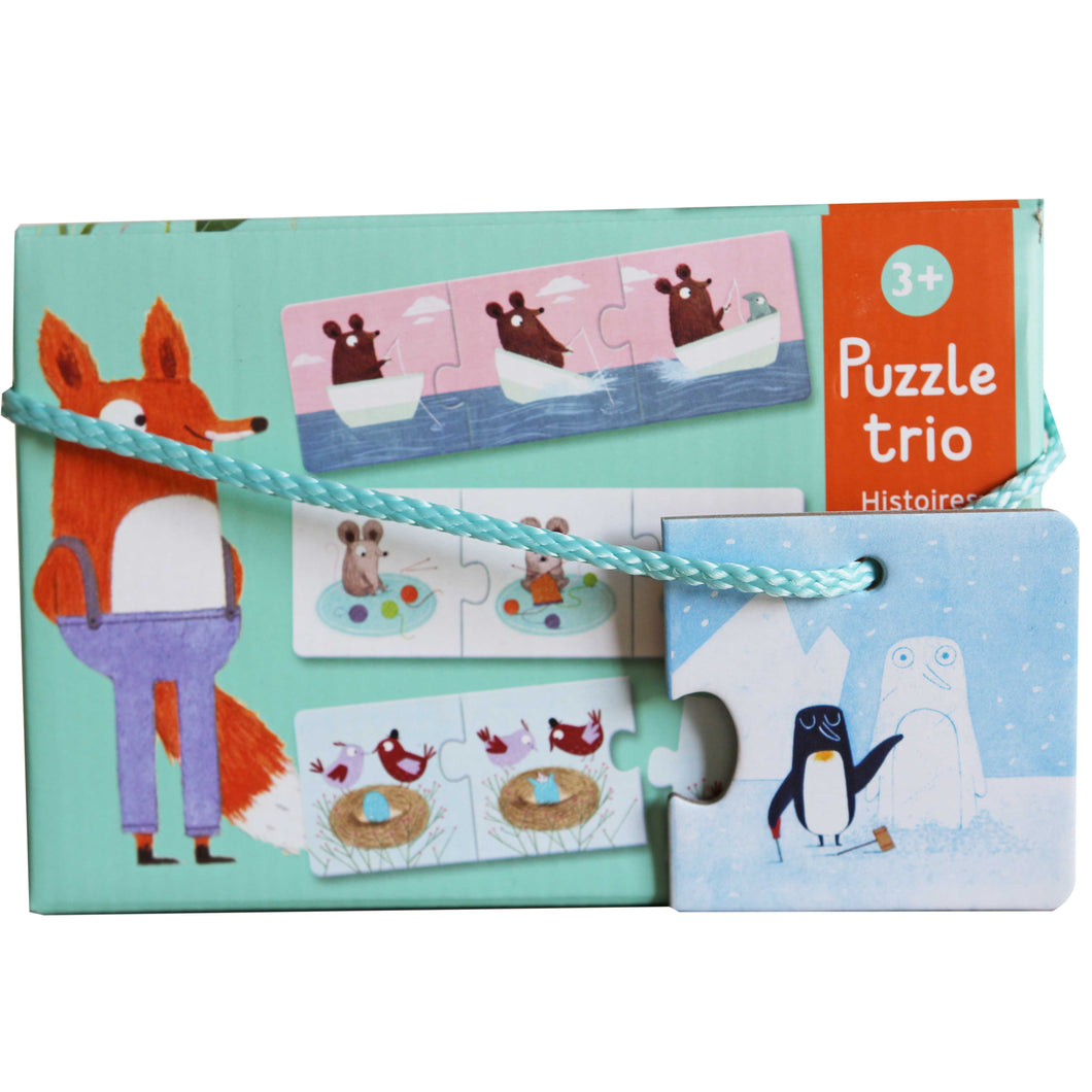Stories Trio Puzzle - Djeco