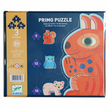 Load image into Gallery viewer, Forest Puzzle - Djeco - 9,12 & 16 pcs