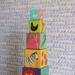Nature & Animal Blocks - Djeco