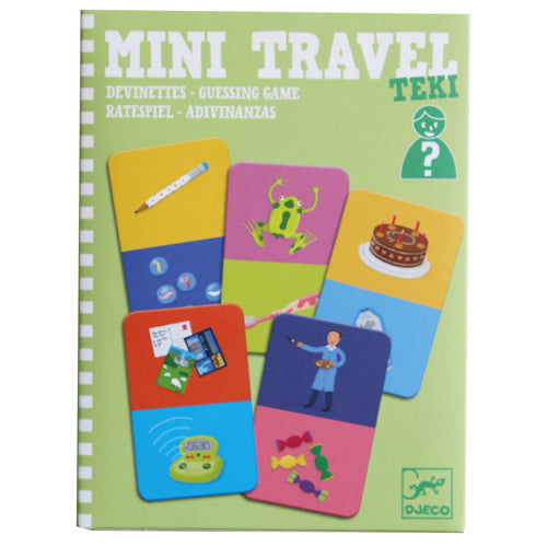 Mini Travel Guessing Game - Djeco