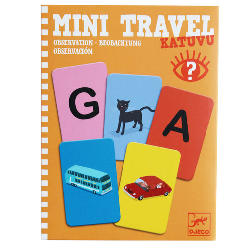 Mini Travel Observation Game - Djeco