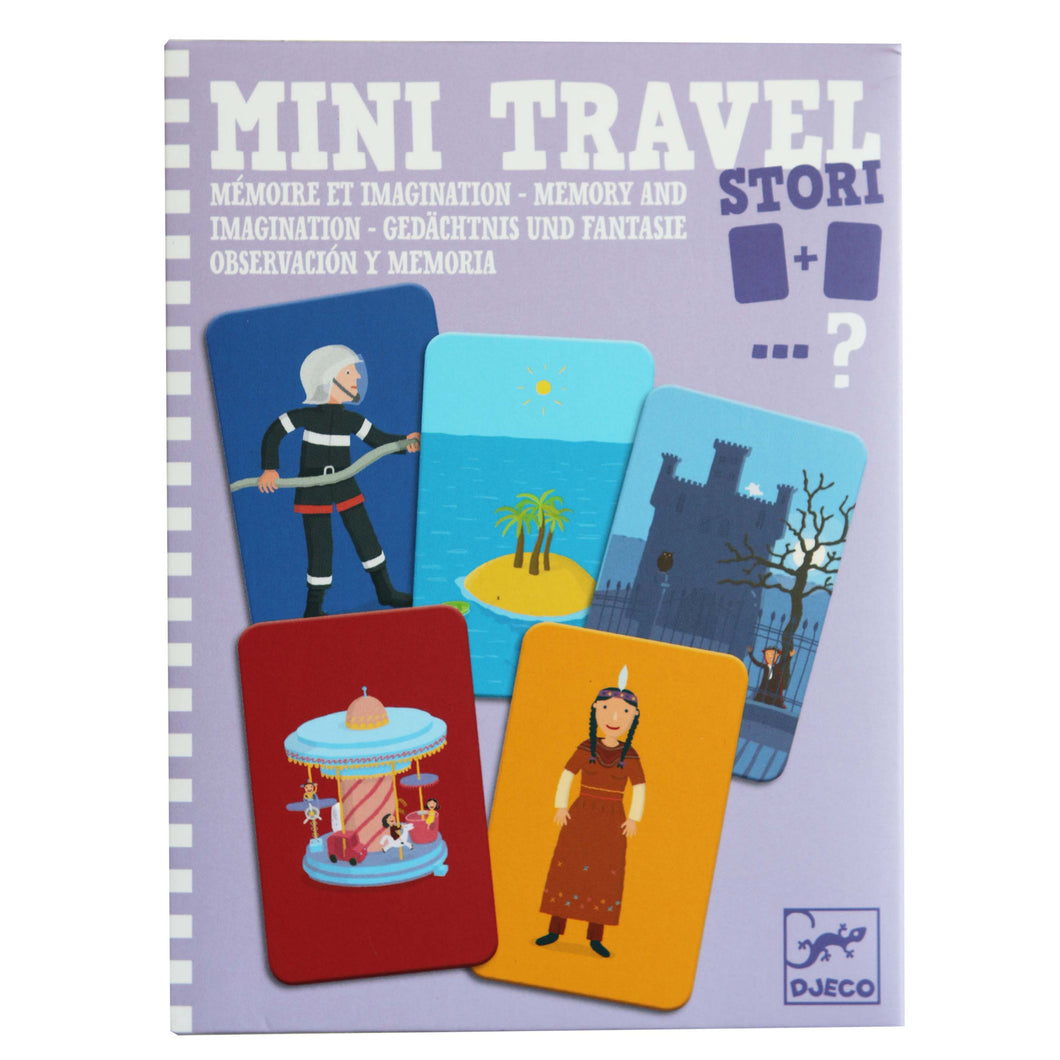 Mini Travel Story Memory & Imagination Game - Djeco