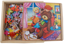 Load image into Gallery viewer, Wooden Puzzle Box