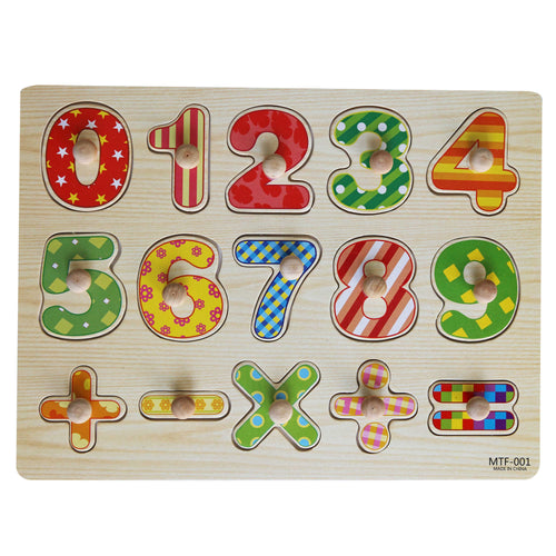 Clever Numbers Peg Puzzle