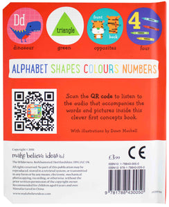 Alphabet, Shapes, Colours & Numbers