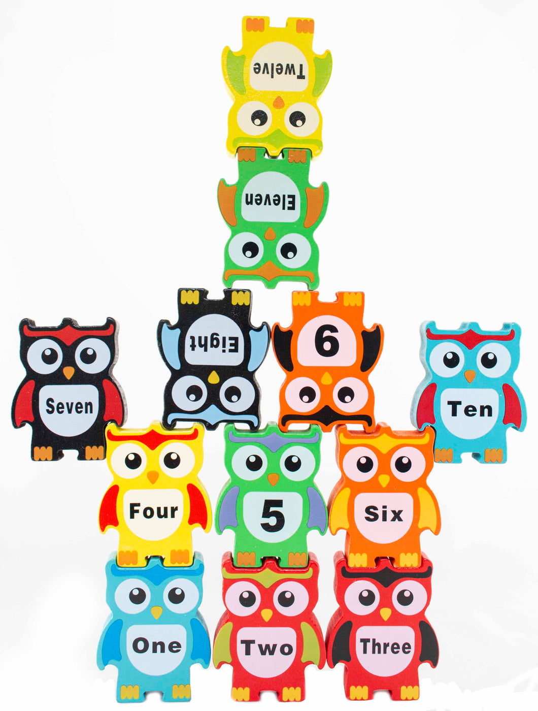 Wooden Owl Stacking