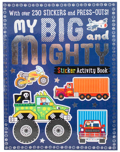 My Sticker & Activity Book: Big & Mighty