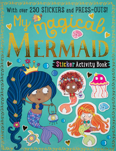 My Sticker & Activity Book: Magical Mermaid