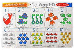 Numbers Write-A-Mat - Melissa & Doug