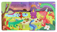 Load image into Gallery viewer, Dinosaur World - A Push-Pull-Turn & Lift Book (Hardcover)