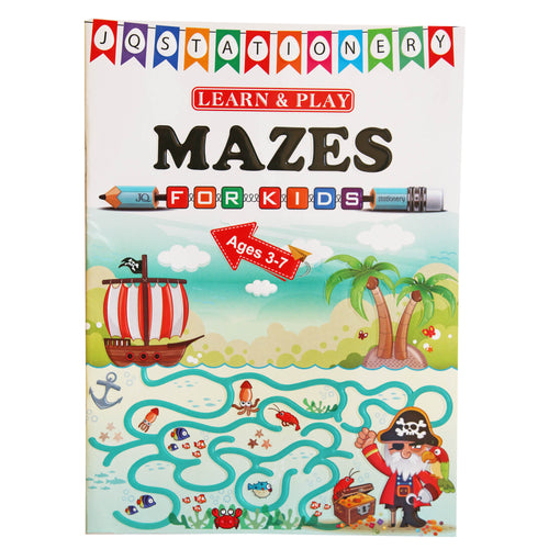 Learn & Play Maze Book