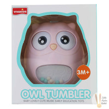 Load image into Gallery viewer, Owl Tumbler (Pink)