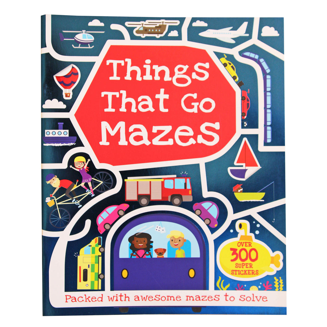 Things That Go - Maze Activity Book