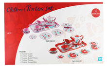 Load image into Gallery viewer, Tin Tea Set - Garden Party