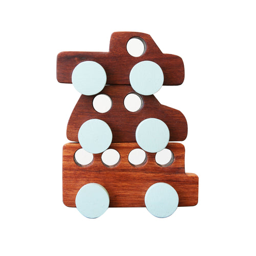 Wooden Vehicles - Set of 3