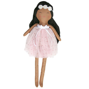 Heirloom Doll - Cocoa Bean - Includes Extra Dress - Charlie Loves