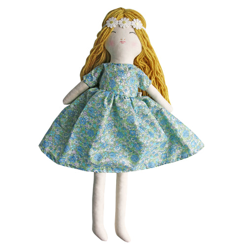 Flower Child Heirloom Doll - Lait & Golden - Includes Extra Dress