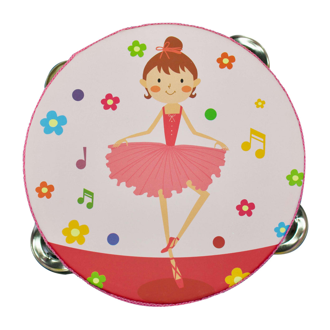 Happy Ballerina Tambourine - Music Series
