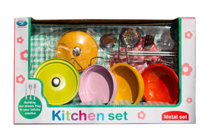 Metal Kitchen Set