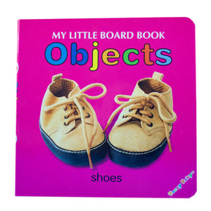 My Little Board Book - Objects