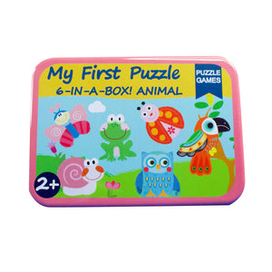 My First Puzzle - Garden Animals