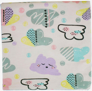 Pink Cloud Bandana Bib