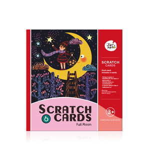 Scratch Card Set - Full Moon - Jar Melo