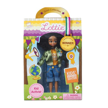 Load image into Gallery viewer, Kid Activist Doll - Mari Copeny Lottie