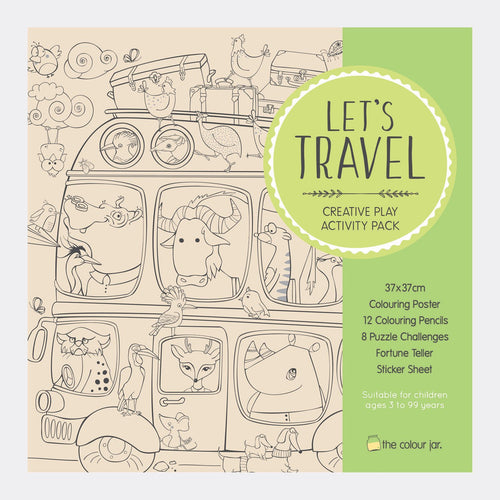 Activity Pack - Let's Travel - The Colour Jar