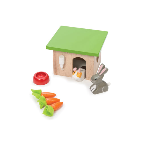 Wooden Pet Set - Bunny and Guinea - Le Toy Van