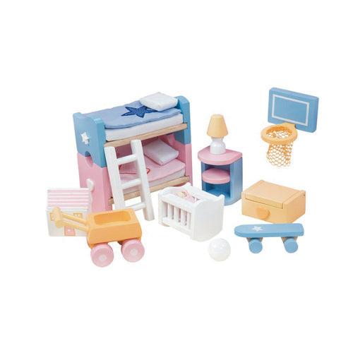 Children's Bedroom - Sugar Plum Doll Furniture - Le Toy Van