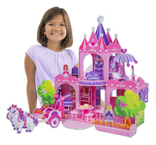 Load image into Gallery viewer, Pink Palace 3D Puzzle - Melissa & Doug